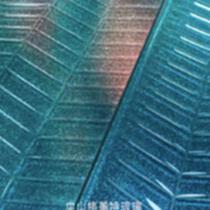 格美特魚骨紋熱熔玻璃 彩色漸變細閃竹編紋藝術 洗手臺門窗隔斷