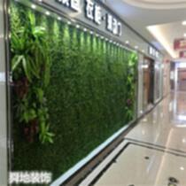 仿真草坪墻 植物墻 仿真花墻 文化墻景觀設計施 河北生態植物