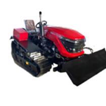 50馬力履帶式旋耕機拖拉機耕地機大型履帶旋耕機